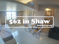 562 Entire home w/ Loft Bed in Shaw, Mandaluyong